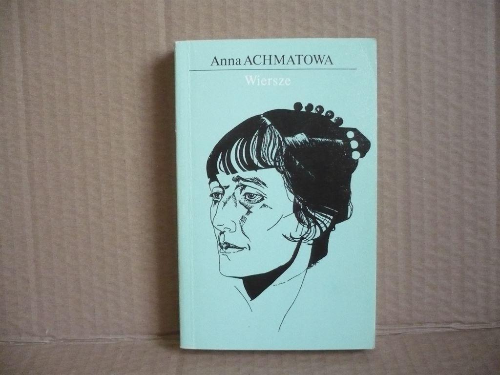 Wiersze Anna Achmatowa Antykwariat Exlibris