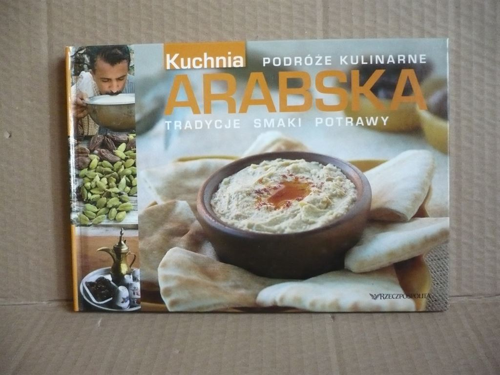 Kuchnia Arabska Podróże Kulinarne Antykwariat Exlibris